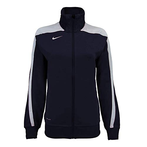 Nike Women's Mystifi Warm Up Jacket, Navy, X-Large