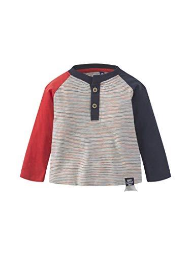 TOM TAILOR Kids T-Shirt Striped, Multicolore (Y/D Stripe|Multicolored 0001), 86 Bébé garçon