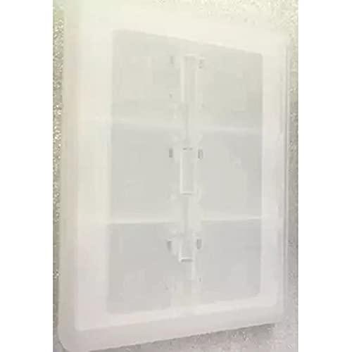 Armaniepoch 28 En 1 Juego SD Card Case Cartridge Storage for Nintend 3Ds DS Dsi,Blanco