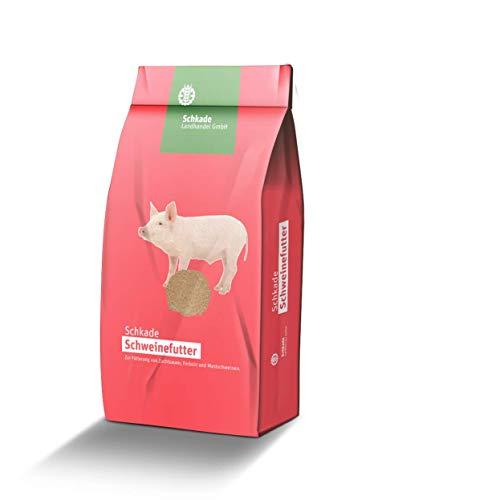 Schkade Landhandel GmbH Ferkelaufzuchtfutter I - Schweinefutter für Ferkel mit einen Gewicht bis etwa 20 kg - mehlförmig 25 kg gesackt
