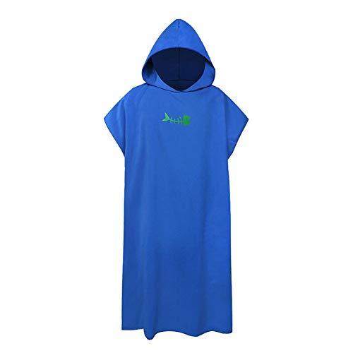 DASNTERED Protector solar con capucha de secado rápido Surfing toalla de baño para mujeres adultos...