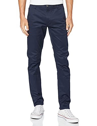 Dockers Alpha Original Khaki Skinny - Lite, Pantalones Hombre, Azul (Pembroke Blue), W34/L32