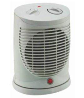Master FH3000 - Calefactor (Ventilador eléctrico, Interior, Escritorio, Piso, Blanco, Giratorio, 2000 W)