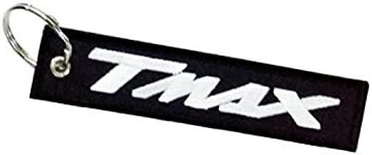 Moto Discovery T-MAX cord/ón Llavero Doble Cara