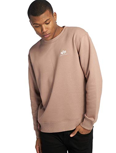 Alpha Industries Basic Sweater Small Logo Herren Pullover 188307