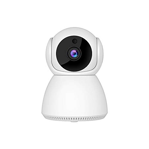 WiFi Security Table Camera, Indoor IP Camera 1080P HD, Wireless Home Surveillance Camera for Baby/Pet/Nanny, with Pan/Tilt, AI Motion Detection, Auto Tracking, 2-Way Audio, Night Vision, Alarm Events