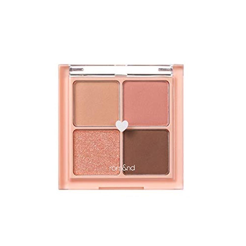 ラップ見る人ロマンチックrom&nd BETTER THAN EYES Eyeshadow Palette 4色のアイシャドウパレット # 1 DRY mango tulip(並行輸入品)