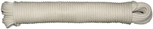 T W Evans Cordage 46 065 Number 6 3 16 Inch Buffalo Cotton Sash Cord 50 Feet Hank product image