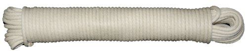 T.W Evans Cordage 46-083 Number-8 1/4-Inch Buffalo Cotton Sash Cord 50-Feet Hank