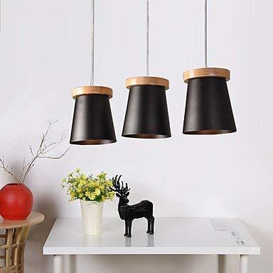 Lámpara de araña moderna lámpara colgante de techo colgante pintura característica para LED madera de bambú salón dormitorio comedor cocina estudio oficina 3c CE FCC para salón dormitorio C