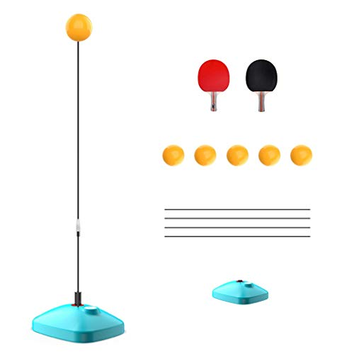 Best Price Love lamp Table Tennis Coach Elastic Flexible Shaft Equipment Racket Training Set Indoor ...
