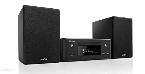 Denon CEOL N-11DAB - Amplificador de Alta fidelidad con Altavoces, Reproductor de CD, Streaming de música, HEOS Multiroom, Bluetooth, WLAN, AirPlay 2, Alexa, 2 entradas de TV ópticas, Radio Dab+