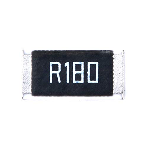 DIYElectronic 50 pcs 2512 SMD Resistor 1W 0.18 ohm 0.18R R180 1% 2512 Chip Resistor Passive Component