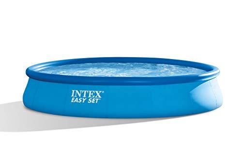 Intex 28156 Easy Set Piscina, 457 x 84 cm, Blu