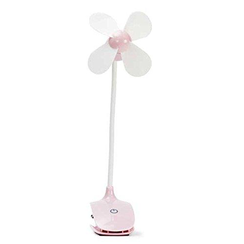 ZIJIFAN Ricaricabile Portatile Mini Ventilatore Desktop Studenti Passeggino culle Cartella a USB Mini-Fan-Clip
