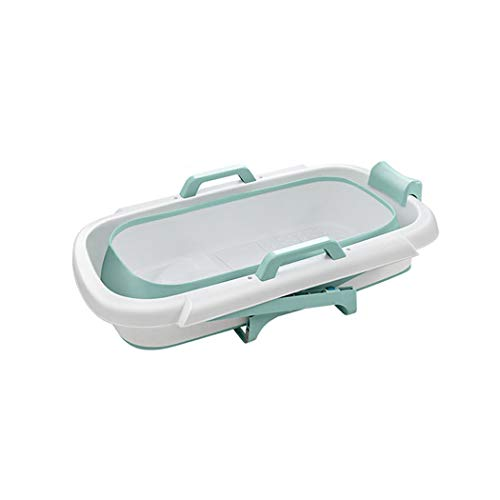 QHYY Bañera de Drenaje Doble para Adultos PP + TPE Cubo de baño multifunción Anillo de 360 Grados Mantenga la bañera Caliente