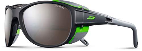 Julbo Explorer 2.0 Occhiali da sole Uomo, Grigio Opaco/Verde