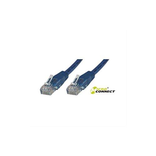 Microconnect Cat6 UTP 10m - Cable de Red (10 m, RJ-45, RJ-45, Rojo)