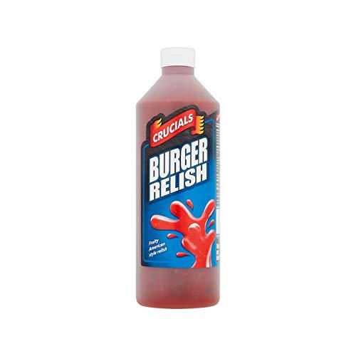 Crucials Sauzen 1 Liter (Burger Relish)