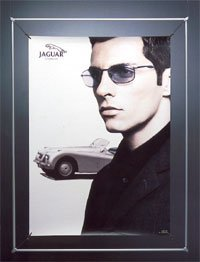 König Werbeanlagen Spannrahmen - Plakatrahmen DIN A1
