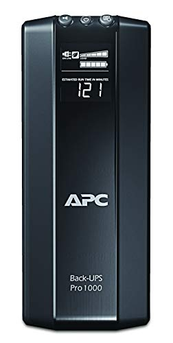 APC Back-UPS Pro 1000VA UPS Battery Backup & Surge Protector (BR1000G)