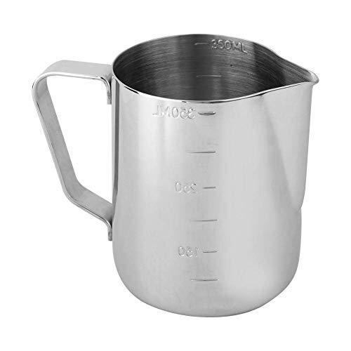 Tarro para hacer velas, herramienta para hacer velas de bricolaje, taza de acero inoxidable con escala para hacer velas (350 ml)