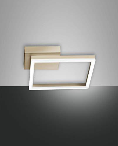 FABAS LUCE 3394-21-225 PLAFONIERA BARD LED 22W 1980lm color ORO OPACO L27X27 cm