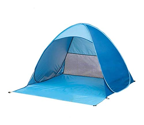 DZHTSWD Mini Kids Tent,Outdoor travel tents family camping tents, ultra-light and quick-drying sun tent, open automatically free tent camping beach fashion