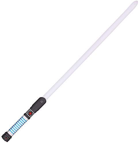 Das Kostümland Lichtschwert Luke Farbwechsel und Sound - 90 cm - Leuchtschwert Laserschwert Film Zubehör Karneval Mottoparty Kindergeburtstag