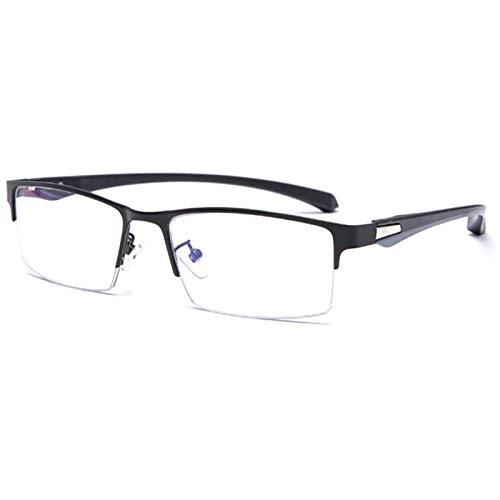 Reading Glasses Gafas de Lectura Progresivas Multifocales para Computadora Gafas de Lectura con Montura Metálica Lente Fotocromática Multifocal Antideslumbrante Ultraligera para Hombres y Mujeres