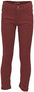 Pantalones para Niñas Largos Cortos Short Leggins Primavera Verano Otoño Invierno 2019 Tallas 4 5 6 7 8 9 10 11 12 13 14 Años Todo de Rojo