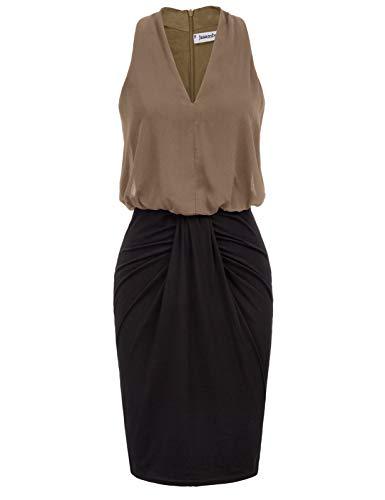 Color Block Midi Dresses