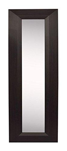 "Rayne Mirrors American Made Home Decorative Accent Dark Walnut Wall Mirror Panel Set of 4 - 11.75""W x 39.75""H"