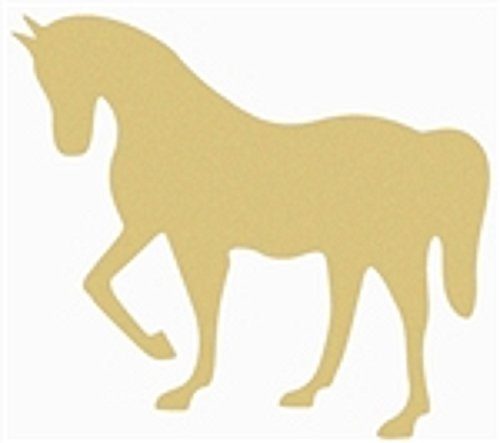 """Horse Cutout Unfinished Wood Door Hanger Home Decor Country Decor Wall Hanging Farm Decor MDF Shaped Canvas Style 1 (12"""")"""