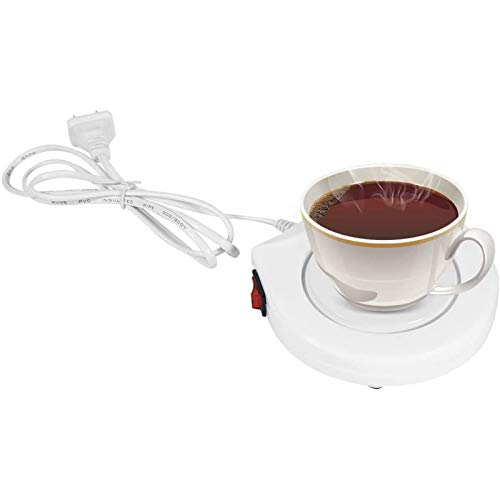 TTHU Coffee Mug Warmer Coffee Cup Warmer Heater Pad Plate Beverage Mug Warmer for Tea Water Cocoa Soup Milk