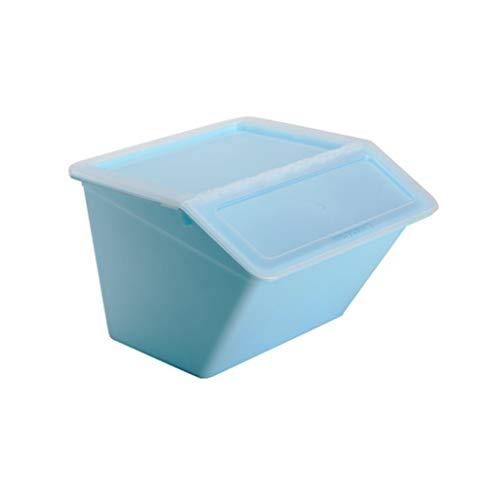 YANQ Plus Storage Box Storage Box Boîte de Rangement en Plastique Boîte de Rangement pour vêtements (Couleur : Bleu)