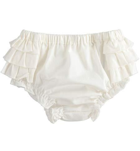 MINIBANDA Braga con volantes de algodón color crema para bebé 2350 crema 3 Months