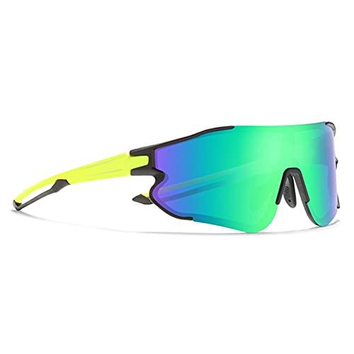 JTXQSI Bicicletas Gafas polarizadas de los Hombres de la luz de Sol Bici de Ciclo de los vidrios al Aire Libre Correr Movimiento de la Lente (Color : C5)