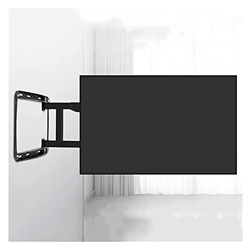 Soporte de TV montado en la pared de 32 a 75 pulgadas, extensión de carga de cuatro brazos, rotación de inclinación, soporte de montaje de pared fijo para TV (color negro)