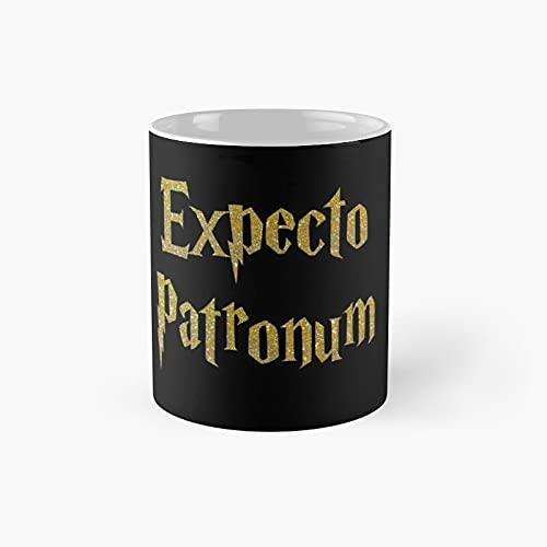 Expecto Patronum Mom Pregnancy Announcement Classic Mug - 11 Ounce For Coffee, Tea, Chocolate Or Latte.