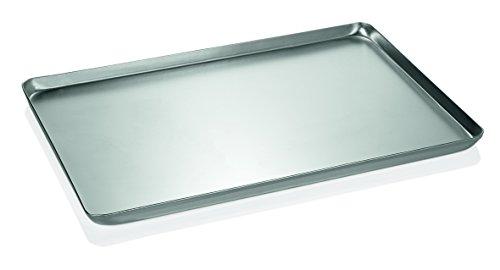 Backblech/Ausstellblech aus Aluminium - gebeizt, Rand umgelegt, nahtlos gezogen / A1 - Abmessung: 40 x 25 x 2 cm / A2-48 x 32 x 2 cm / A3-60 x 40 x 2 cm (Abmessung: 60 x 40 x 2 cm)