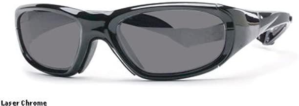 Rec Specs Protective Sports Eyewear- Maxx 20 - Laser Chrome/ Silver Flash