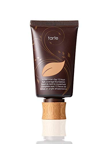 Tarte Amazonian Clay 12 Hour Full Coverage Foundation SPF 15 Light Medium Neutral 1.7 Ounce Full Size
