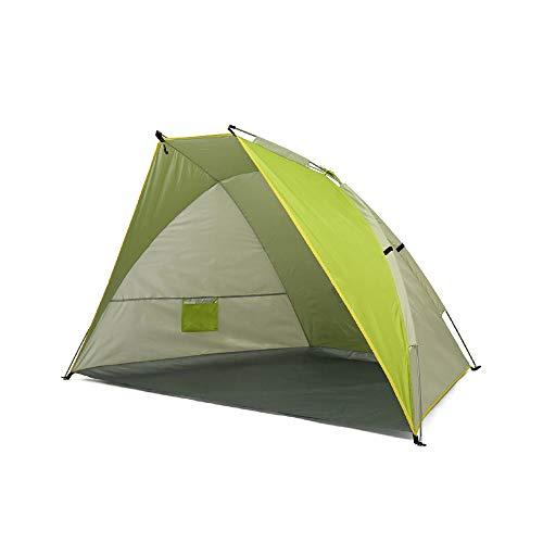 TWDYC Tenda da Spiaggia per Esterni ombrellone da Mare e Protezione Solare capanno da Pesca Singolo e Doppio Portatile dedicato monostrato da Campeggio Addensato (Color : A)