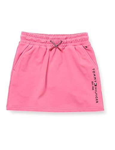 Tommy Hilfiger Essential HWK Skirt Falda, Rosa exótico, 40 para Niñas