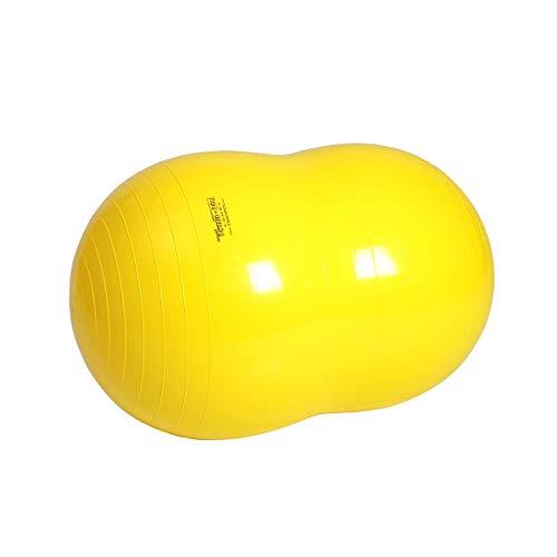 Physio-Roll Gymnastikball Doppelball Physioball Sitzball Fitnessball 90 cm GELB