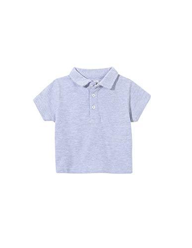 Gocco Pique Polo, Gris (Gris Claro Melange S06rncca901gc), 86 (Tamaño del Fabricante: T: 12/18) para Bebés