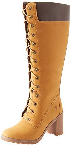 Timberland Women's Allington Ankle Boots, Beige Wheat Nubuck 231, 40
