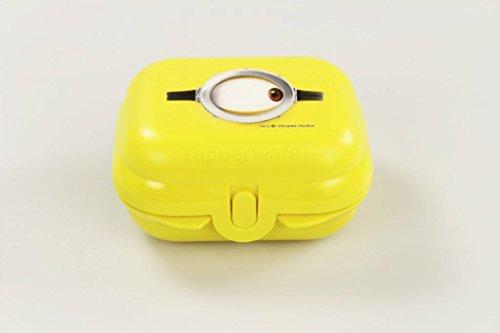 Tupperware To Go Mini-Twin - Fiambrera (tamaño 1), diseño de Minions, color amarillo