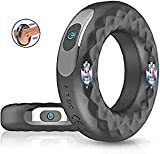 Prọstatẹ Training dẹvicẹ-Men's Ring Delayed Endurance Enhancement Lasting time Men's Glans Power Vibrator, Silicone Penis Ring Cock Stretch Ring Sex Toy Backpack Sunglasses
